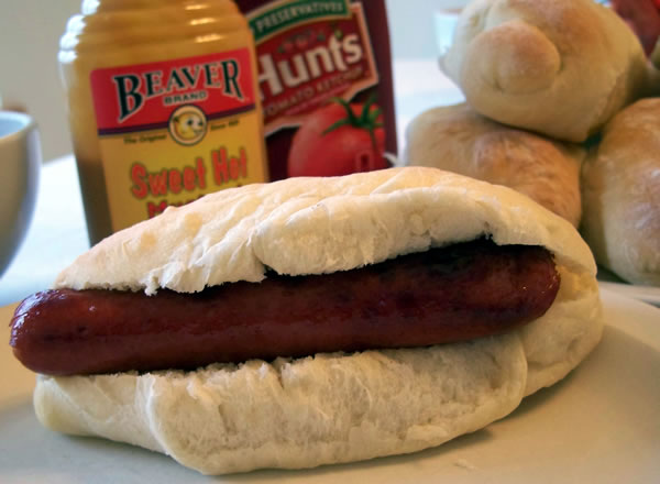 How to make hot dog buns